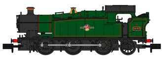 Class 56xx BR Lined Green (Late Crest) 0-6-2 Tank Locomotive No.5643 (Preserved)